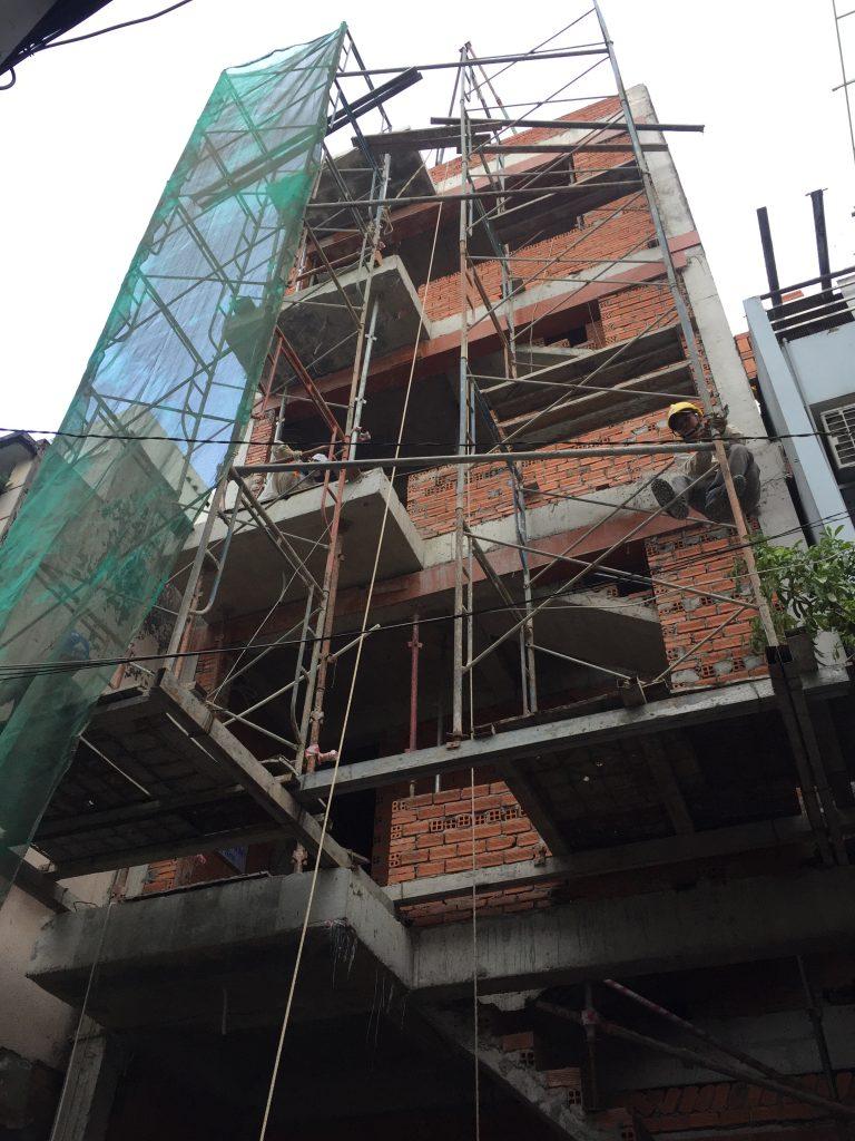 xây nhà trọn gói - xây nhà phần thô