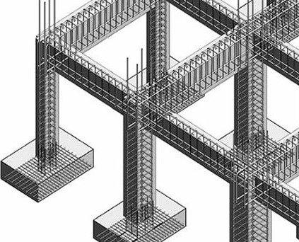 xây dựng nhà phố - khung bê tông cốt thép