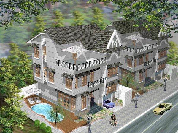 Thiết kế và thi công biệt thự đẹp quận 8