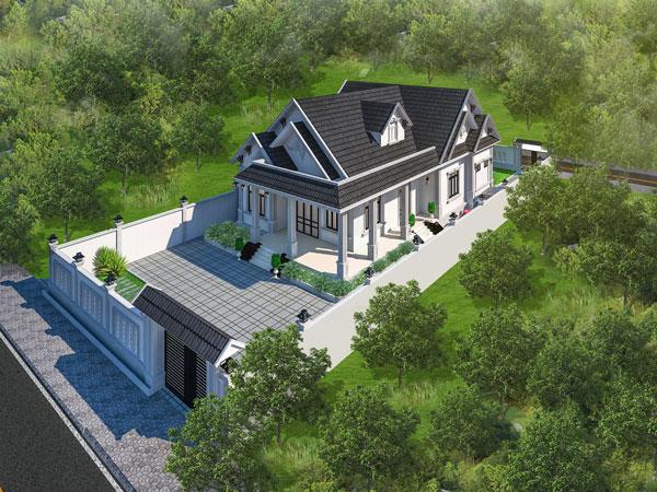 Thiết kế và xây dựng biệt thự đẹp an giang