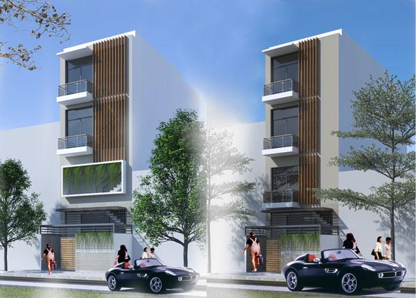 Thiết kế và xây dựng nhà cho thuê đẹp