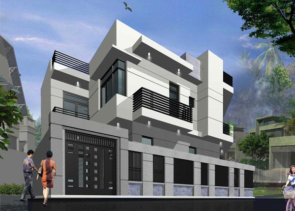 Thiết kế và xây dựng nhà ở kết hợp cho thuê đẹp