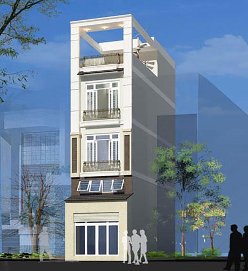 Thiết kế và xây dựng nhà ở đẹp quận bình thạnh