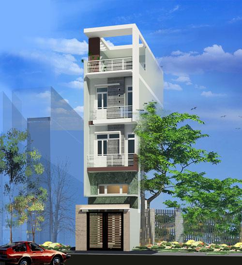 thiết kế và xây dựng nhà phố đẹp
